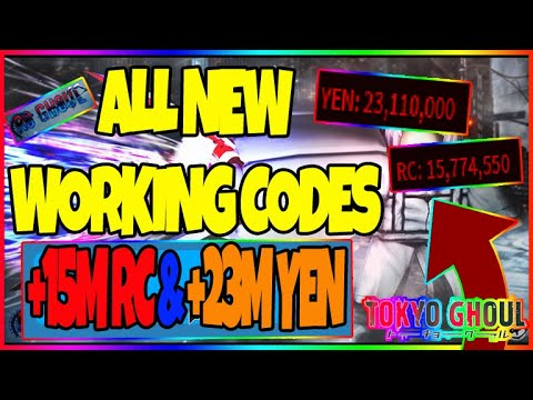 ALL *16* NEW CODES IN RO-GHOUL (ROBLOX) [JULY-11-2020]