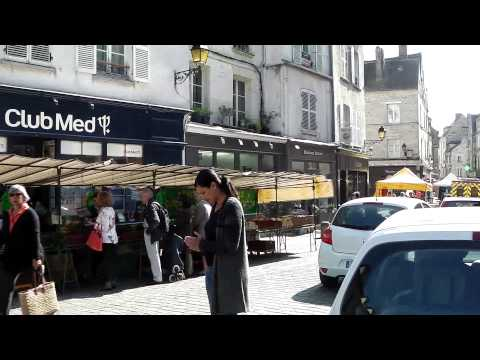 Town Centre and Market, Senlis, France