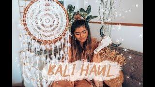 What I bought in Bali .. Bali boho room home decor haul | shewearsfashion