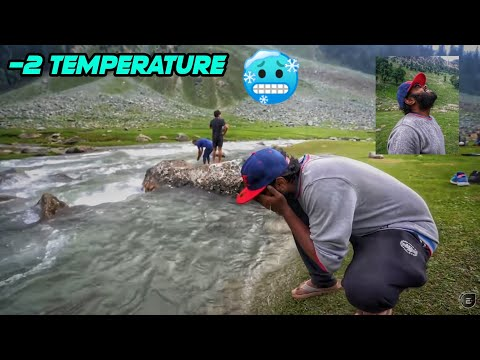 Day 11 - 14 Kms Trekking At 10000 FT To see snow 😍   Extreme Cold Water   Sonmarg   LADAKH RIDE 2021