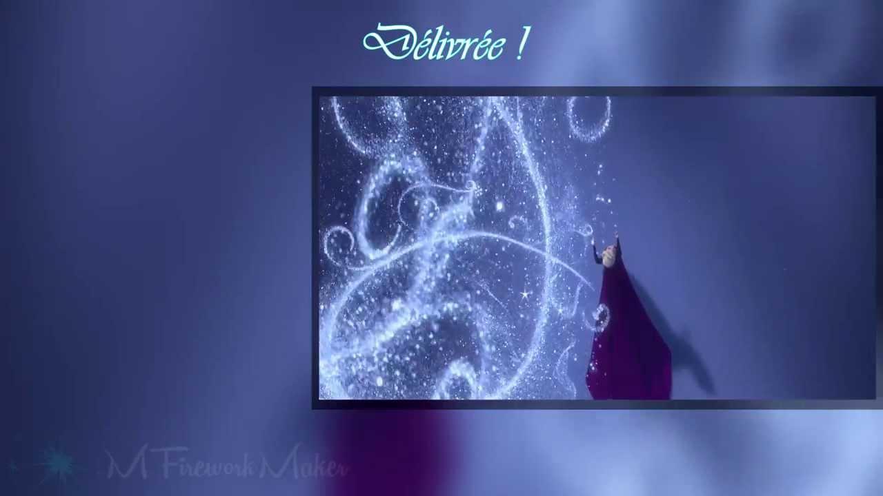 La reine des neiges lib r e d livr e avec paroles hd youtube - Telecharger chanson reine des neiges ...