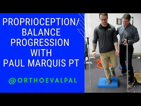 Proprioception and Balance Progression with Ortho Eval Pal
