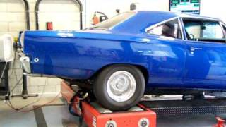 MY FRIEND CALLED CHOOCH 1968 ROADRUNNER DYNO TEST 378 RWHP