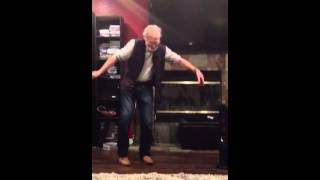Shake it off 70 year old tears it up!