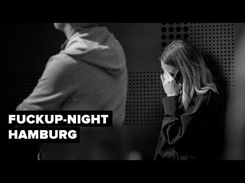 Mein Vortrag auf der FuckUp-Night in Hamburg