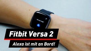Neues Design und Alexa: Fitbit Versa 2 auf der IFA