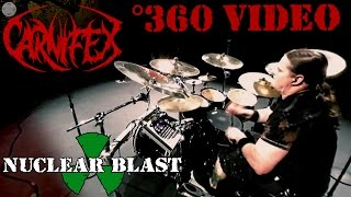 CARNIFEX - Six Feet Closer To Hell (OFFICIAL 360 DRUM PLAYTHROUGH VIDEO)