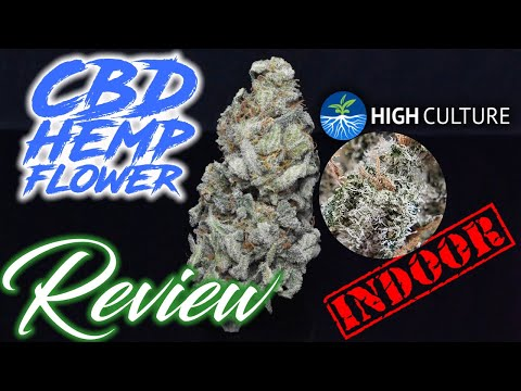 This Is Oregon CBD Genetics Done Right.. FIRE Indoor | High Culture Canna | CBD Hemp Flower Review
