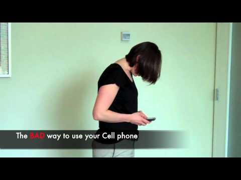 Proper Cell Phone use for a Pain Free Neck - Dr. Erica Ainsworth