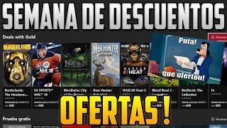 SEMANA DE OFERTAS LOCAS | DEALS WITH GOLD JUEGOS REBAJADOS XBOX 360 Y ONE