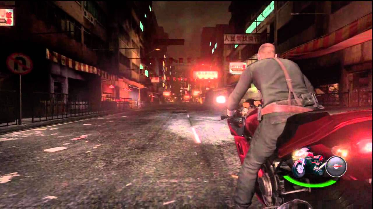 Resident Evil 6 Jake Campaign Chap 4 Motorcycle Helicopter