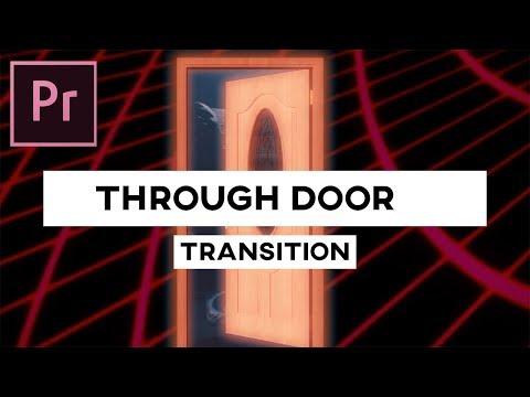 Crazy Zoom Through Door Transition! | Adobe Premiere Pro Tutorial