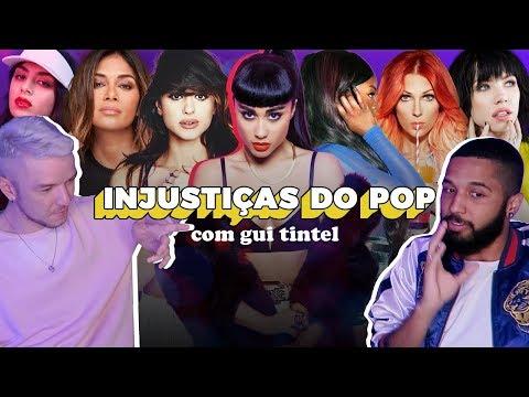 CANTORAS MAIS INJUSTIÇADAS DO POP com Gui Tintel