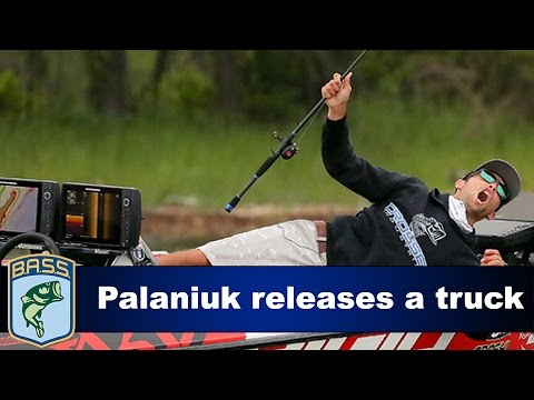 Brandon Palaniuk talks about losing his biggest fish of the day