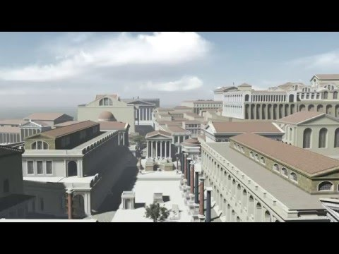 """HISTORY IN 3D"" - ANCIENT ROME 320 AD - 1st trailer"