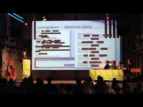 "europe-v-facebook.org - Talk at ""Unlike Us"" in Amsterdam"