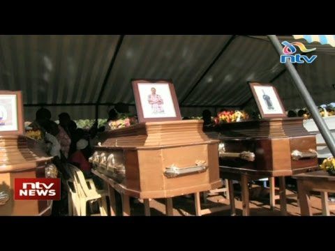 Kitivo mass burials: Six family members who died in a car crash buried