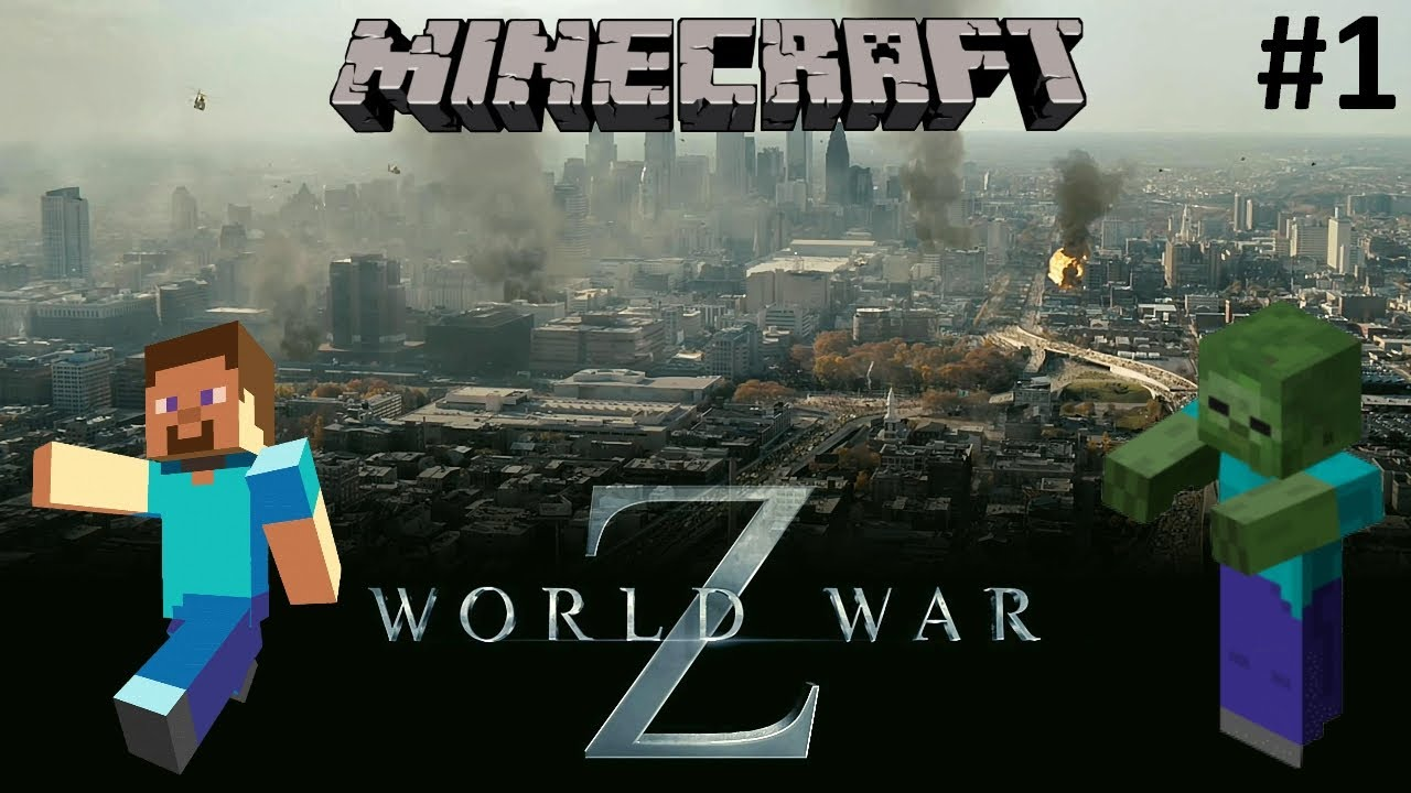 Minecraft : World War Z Map Zombie Apocalypse - Découverte ...