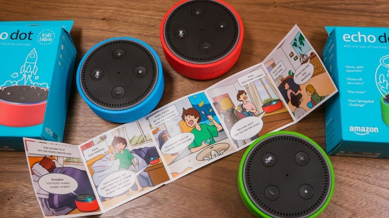 Amazon Echo Dot Kids Edition Review - Magazine cover
