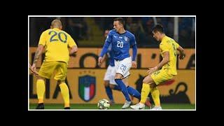 Italien vs. Ukraine Spielbericht, 10.10.18, Internationale Freundschaftsspiele |