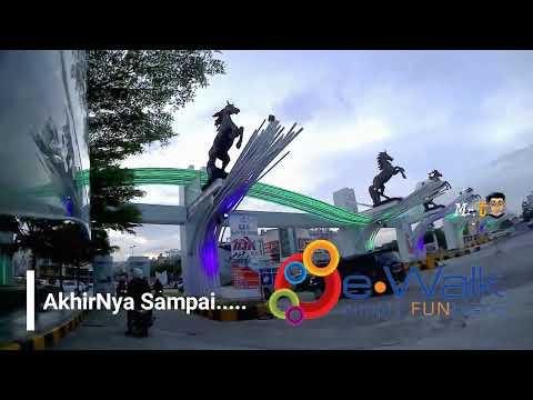 Balikpapan Tourism (Jl. MT. Haryono Go eWalk BSB) Hayoo Tour Di Balikpapan (Kaltim)
