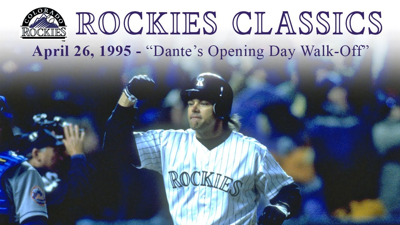 Rockies Classics - Dante's Opening Day Walk-Off (April 26, 1995)