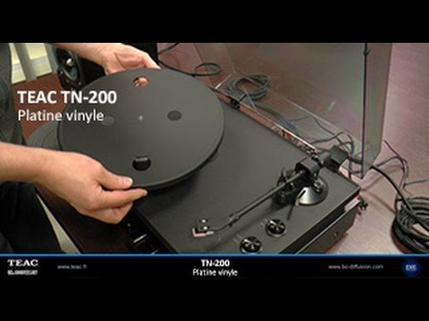 teac tn 200 platine vinyle installation youtube. Black Bedroom Furniture Sets. Home Design Ideas