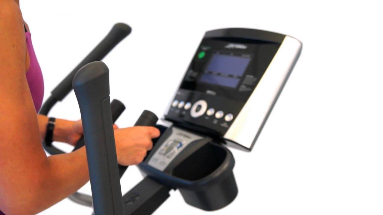 Life Fitness X1 Go Elliptical - YouTube