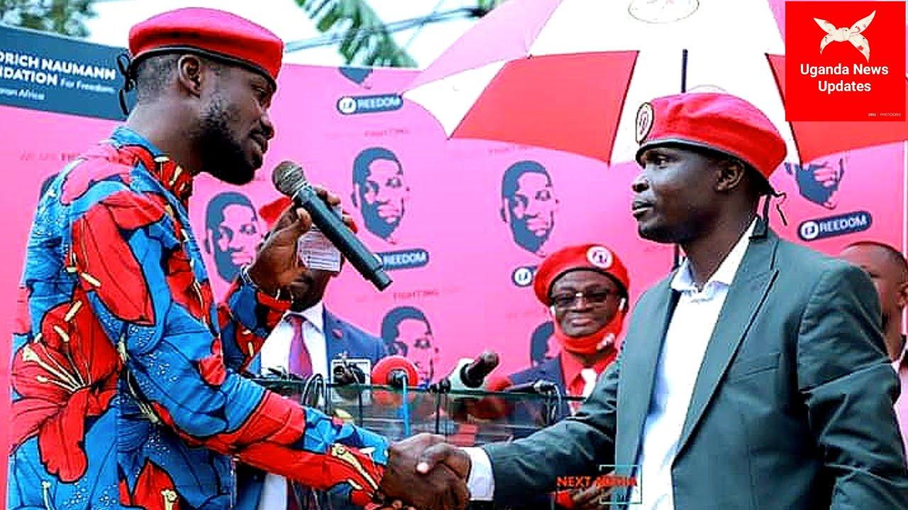 Ebiriwo: Ronald Mayinja akomyewo ewa Bobi Wine, akakasizza Amaanyi ga'bantu