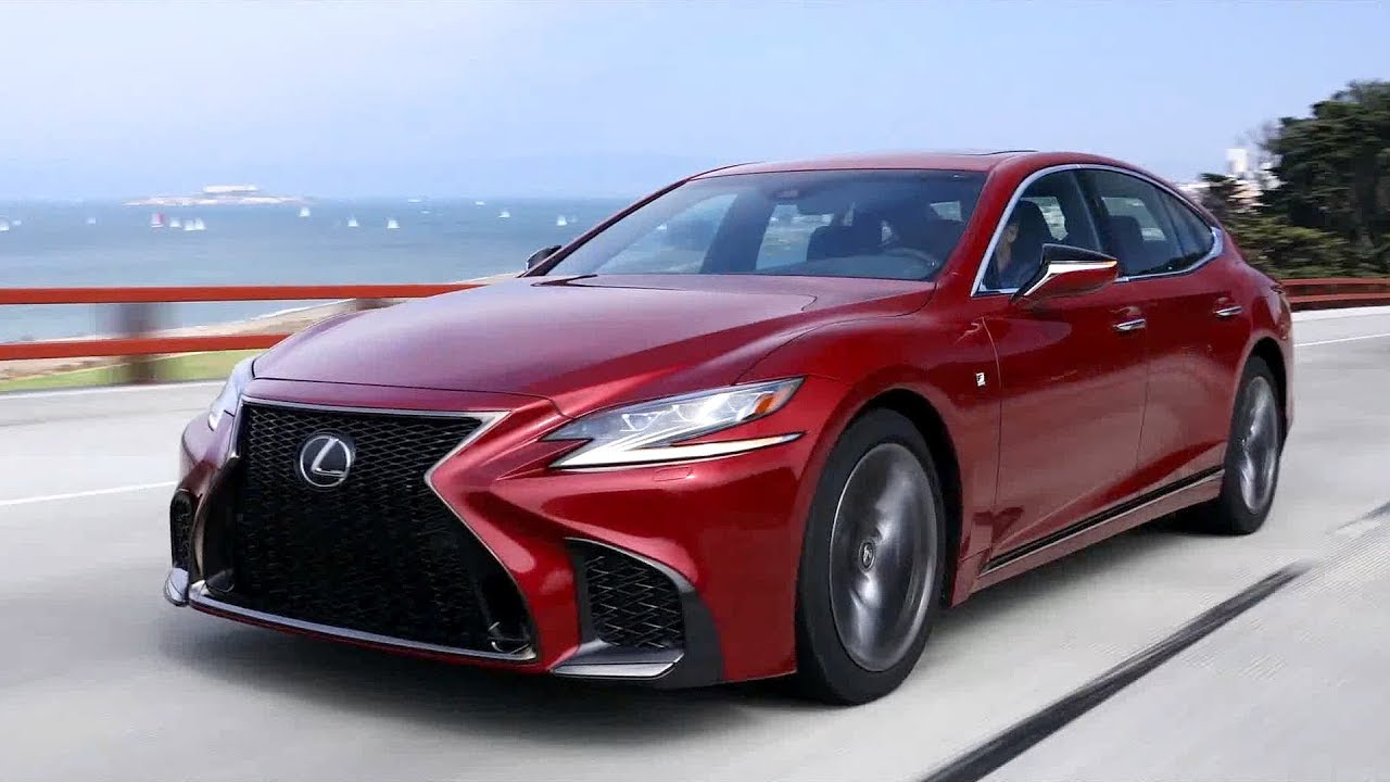 2018 lexus ls 500 f sport driving exterior interior footage youtube. Black Bedroom Furniture Sets. Home Design Ideas