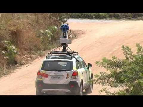 Carro do Google Street View passa por Guaxupé