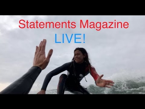 AXIS GO Live at the Huntington Beach Pier! Live from in the water with an AXIS GO