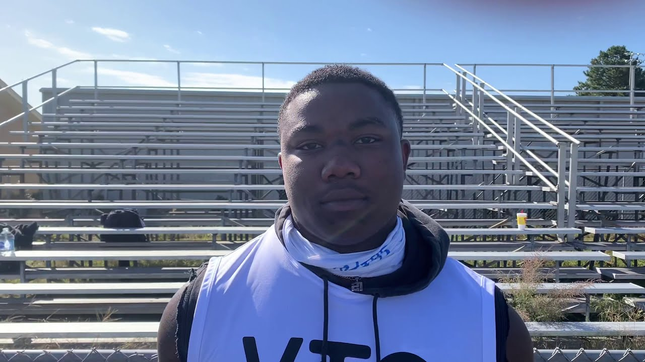 Catching Up With 2021 UNC Football Commit Kamarro Edmonds