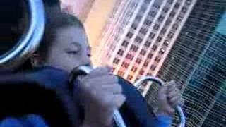 Daytime coaster ride NY NY Las Vegas