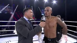 GLORY 65: Tyjani Beztati Post-Fight Interview