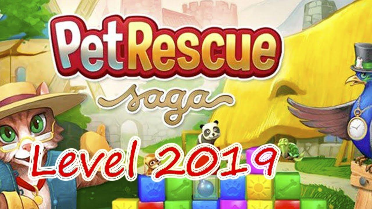 Pet Rescue Saga Level 2019 (NO BOOSTERS)