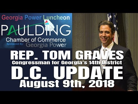 Rep. Tom Graves D.C. Update at the Georgia Power Luncheon