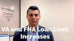 2019 VA And FHA Loan Limit Increasing