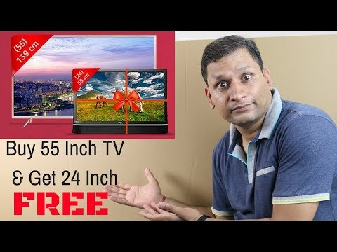 TCL Smart LED Android TV L55P2MUS Unboxing & Review