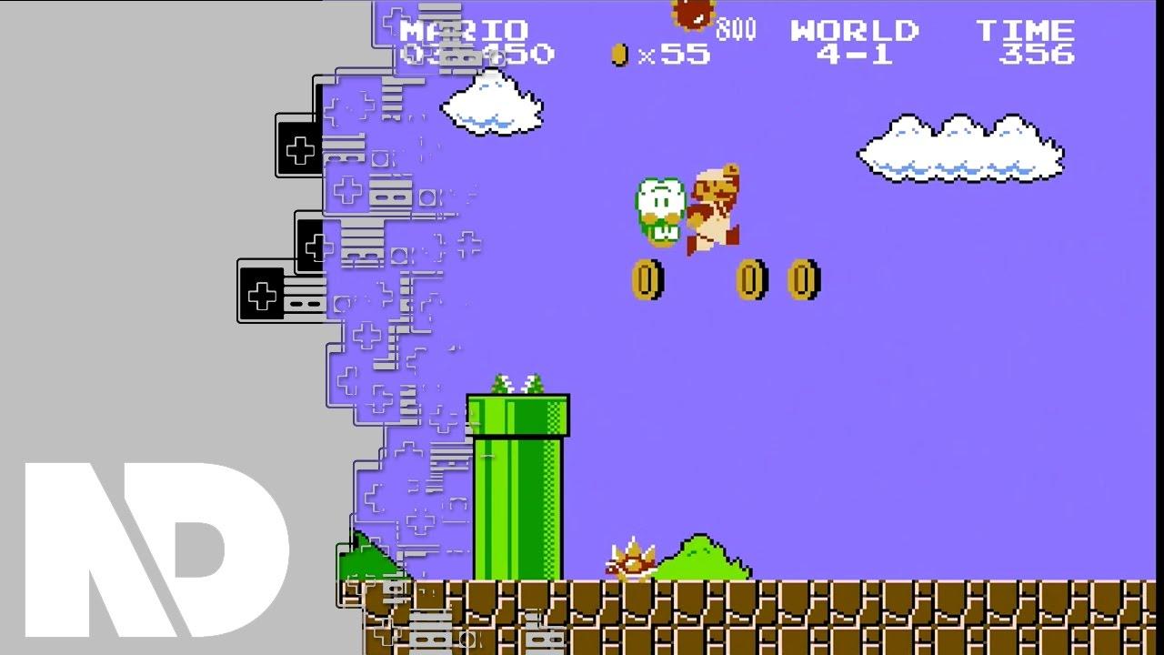 Nintendo Classic Mini Nes Super Mario Bros Gameplay -1352