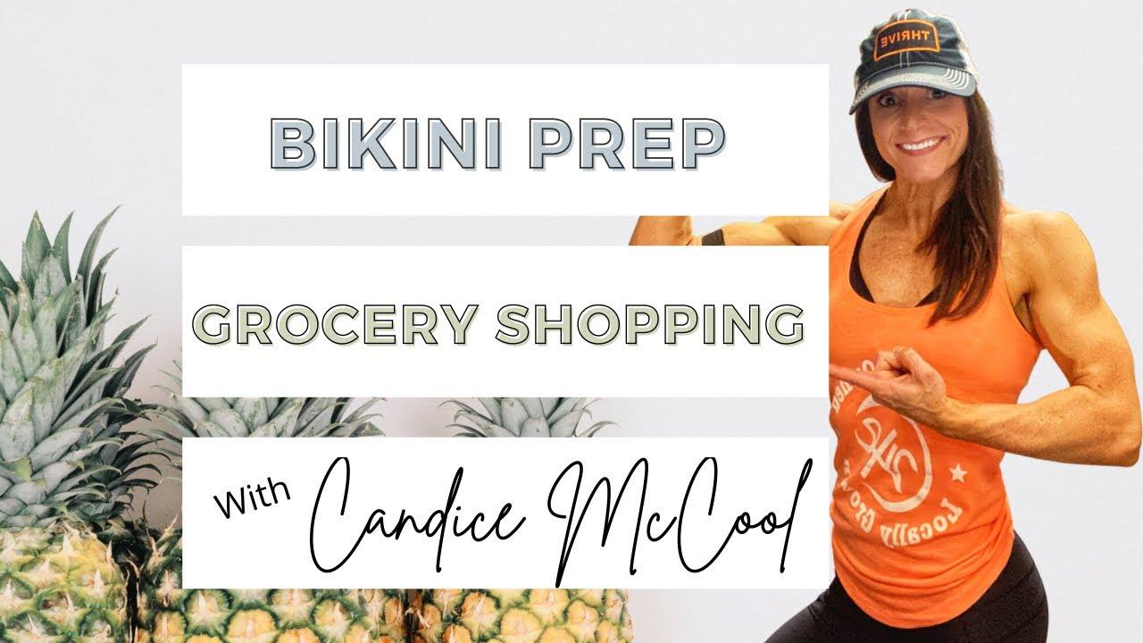 LOW Calorie, HIGH volume Publix grocery trip | NPC Bikini Prep | Road to Nationals