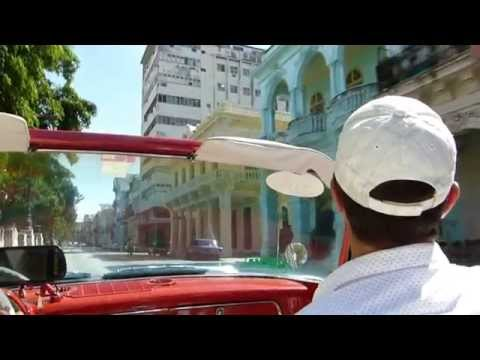 Bobby Ilinov in Havana, Cuba (2015) street city tour with old car cabrio