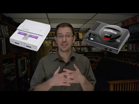 Sega Genesis vs Super Nintendo - SNES vs GENESIS