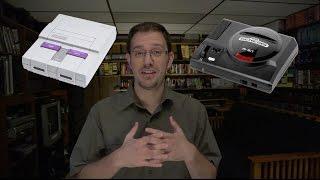 Repeat youtube video Sega Genesis vs Super Nintendo - SNES vs GENESIS
