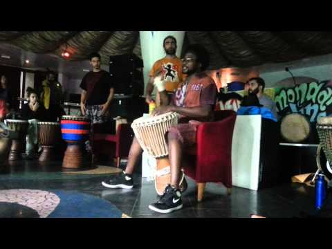 Mama Africa Meeting 2014 stage Djembe Tecnica 2