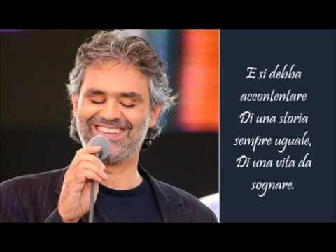 Le Tue Parole - Andrea Bocelli - (Lyrics) - YouTube