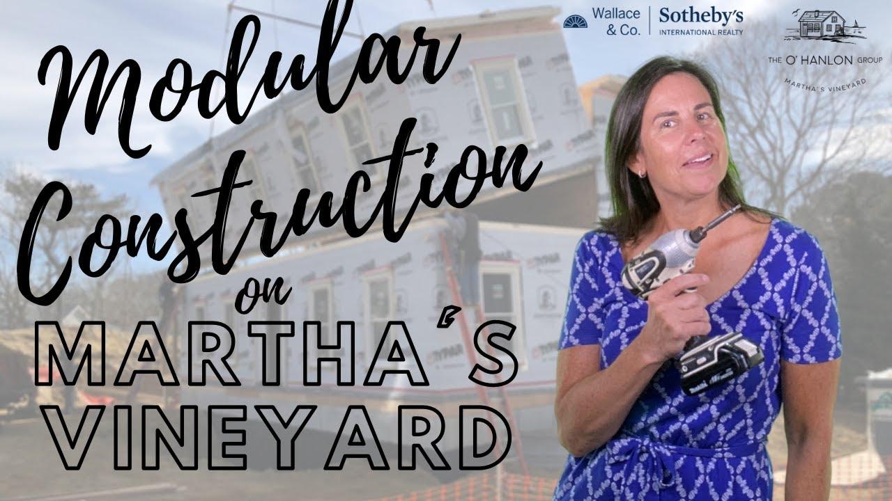 Modular Construction on Martha's Vineyard