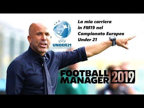 Carriera Italia under 21 nel Campionato Europeo su FM19 | Football Manager 2019