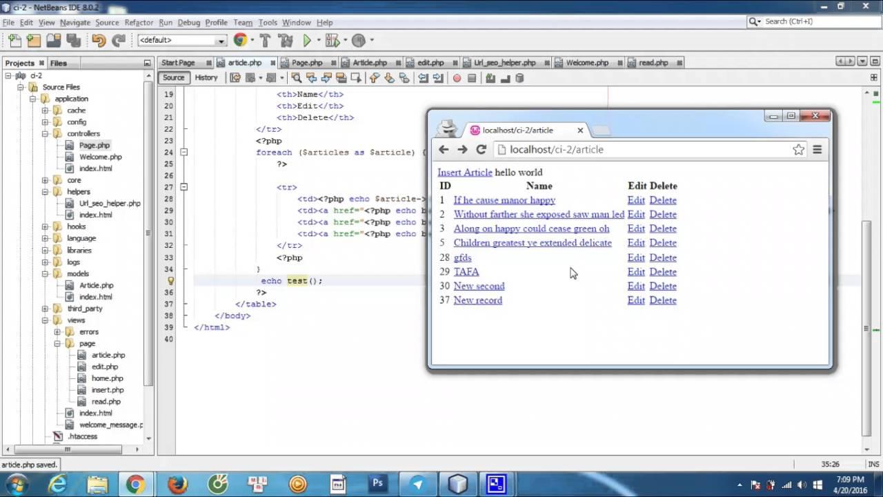 Thietke102 - codeigniter - URL SEO helper