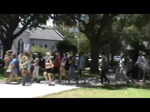 st.augustine fl. protest